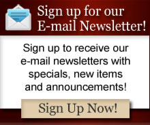 Newsletter Signup Here!